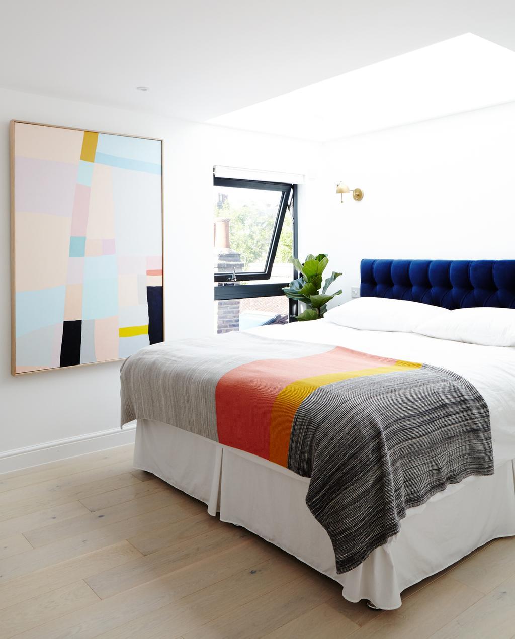 slaapkamer masterbedroom kleurrijk