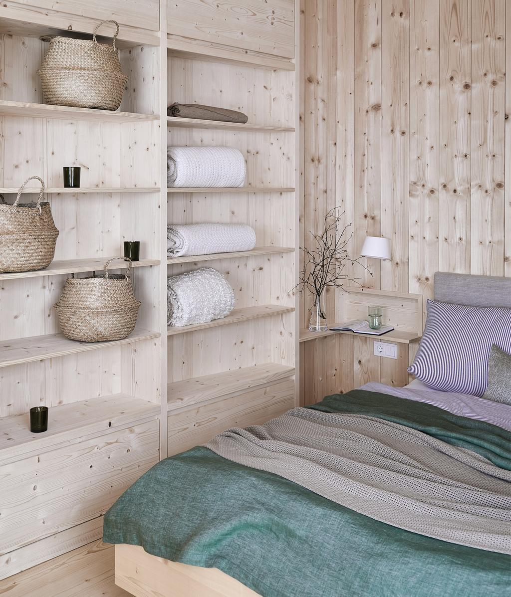 Houten slaapkamer | Tirools | vtwonen 13-2020