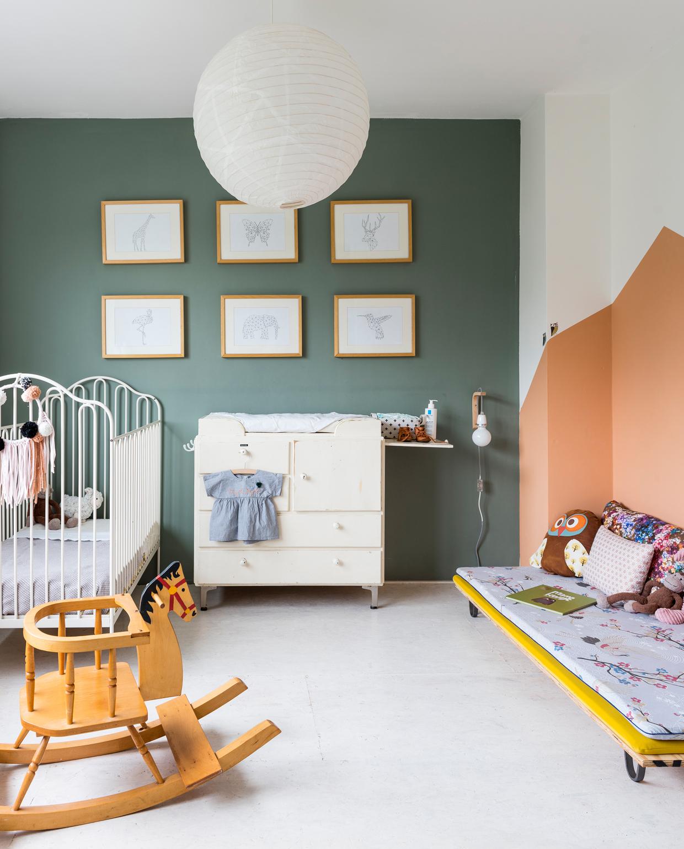 vtwonen binnenkijken special 2019 | kinderkamer groen
