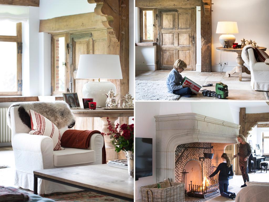 bk 4 elena woonkamer beige zetel en kinderen