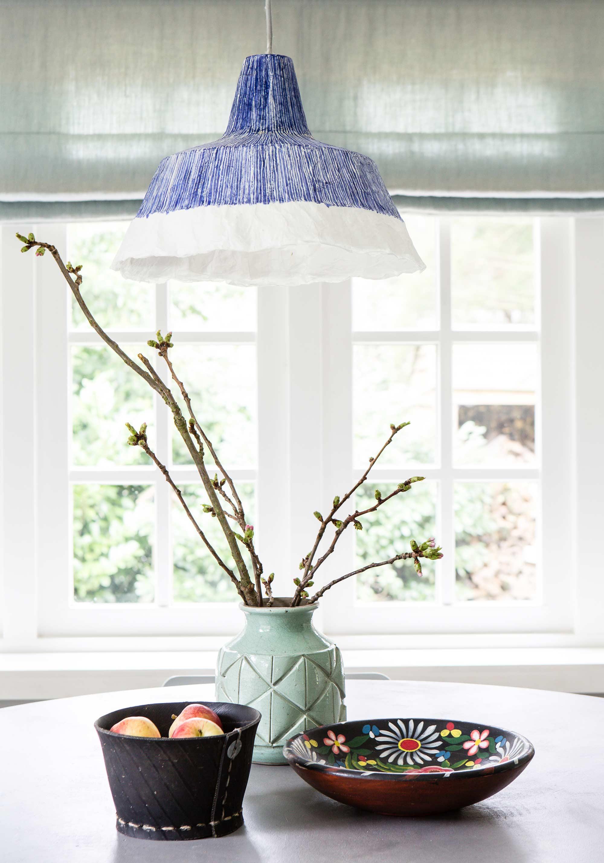 Papiermaché hanglamp