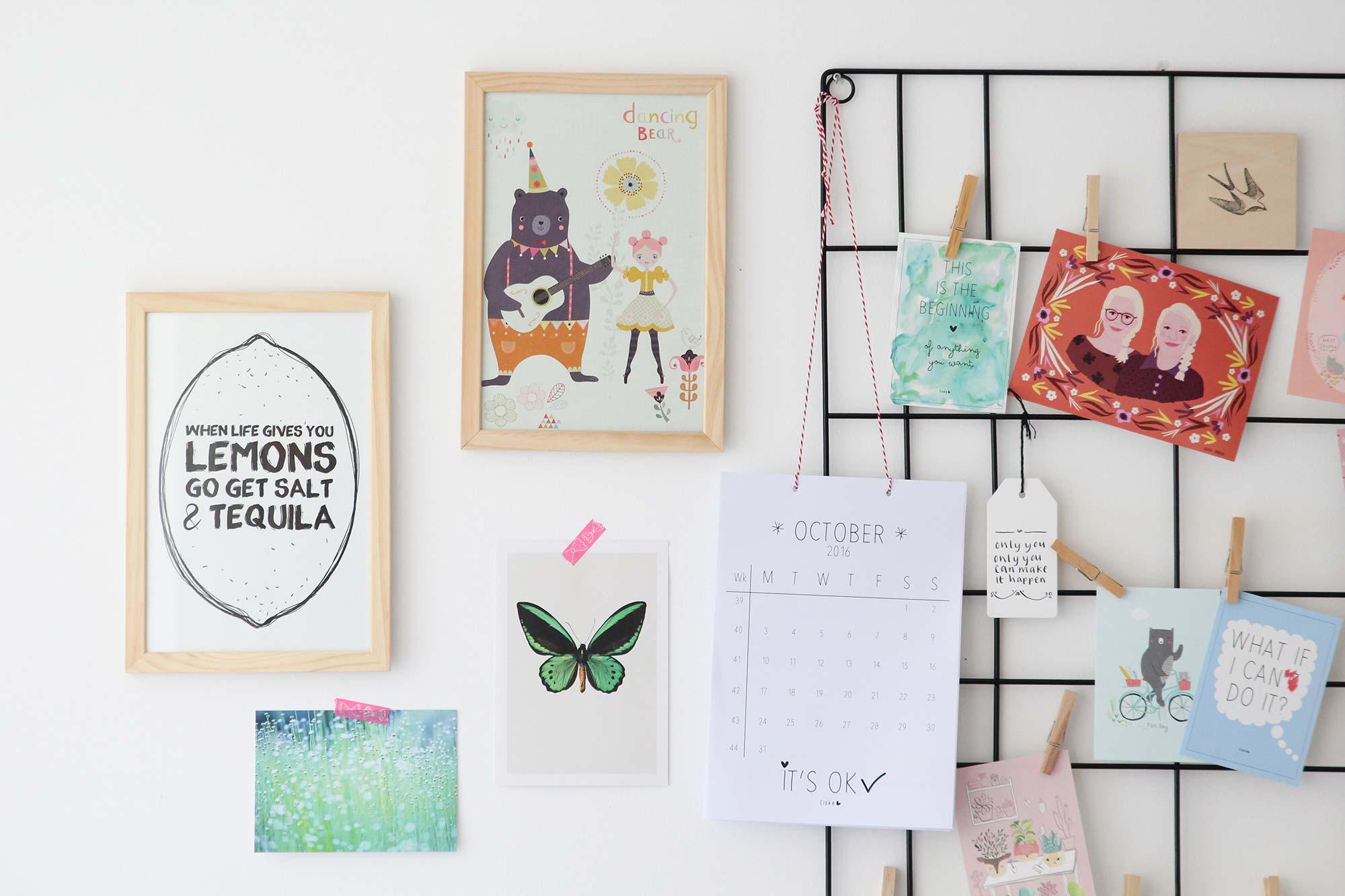 Elske werkkamer posters