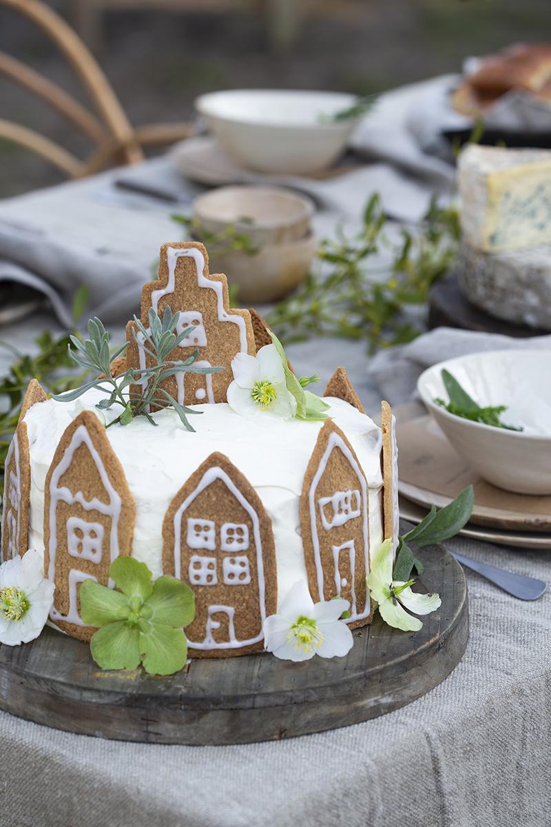 kerst diy floorabella style rustique taart
