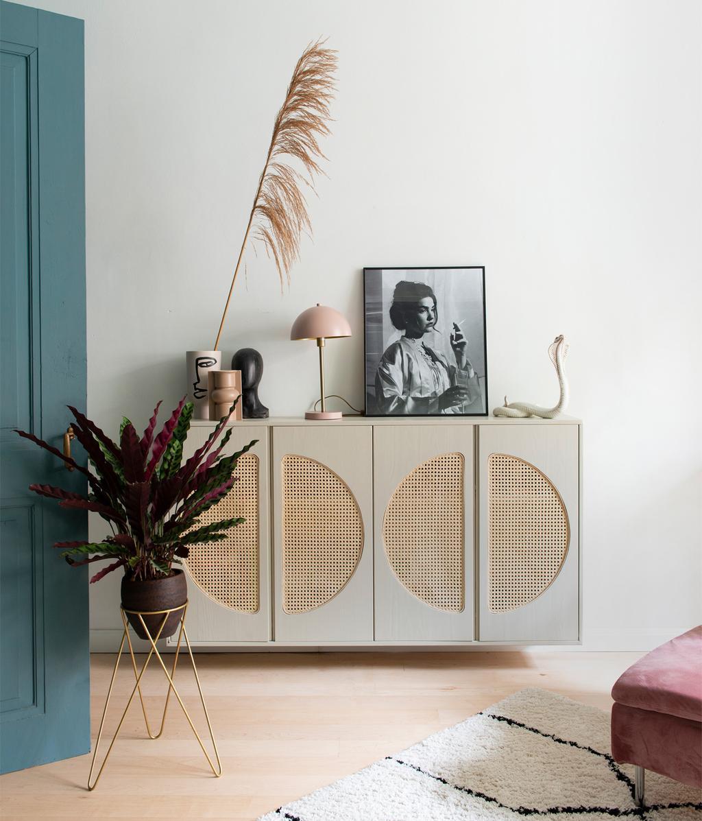 Wit dressoir | Vintage look | vtwonen 01-2021