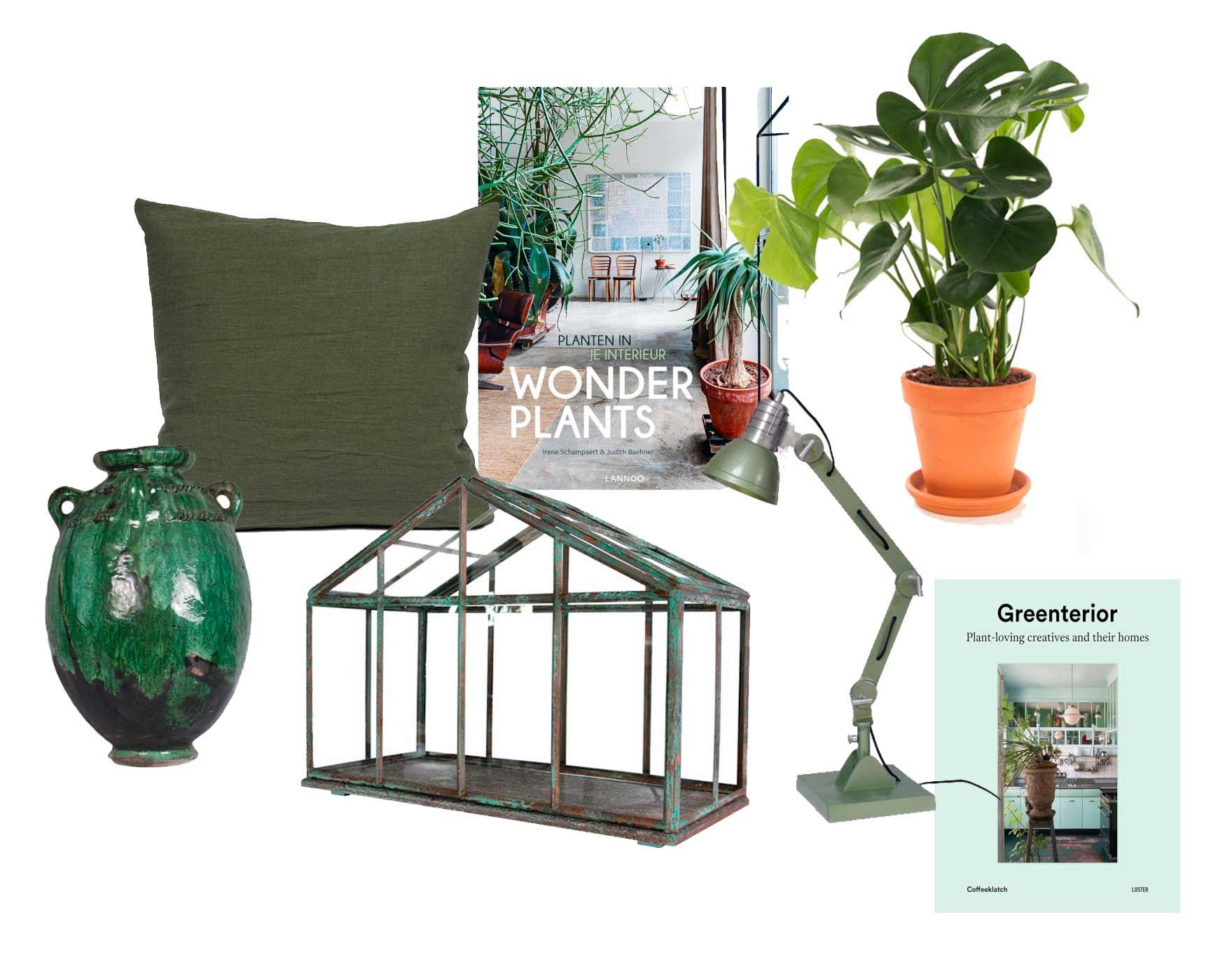 Producten uit de tuinkamer