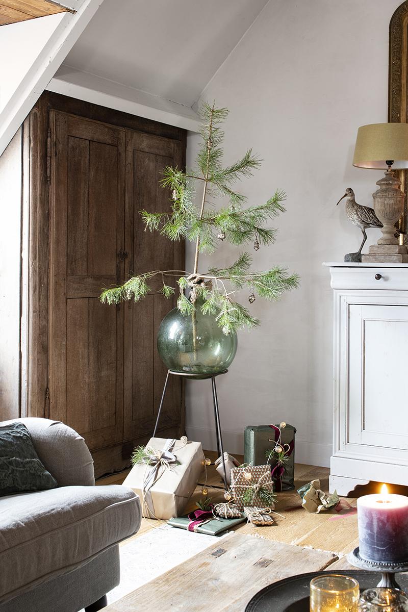 minimalistische kerstboom DIY Woonwinkel De Potstal