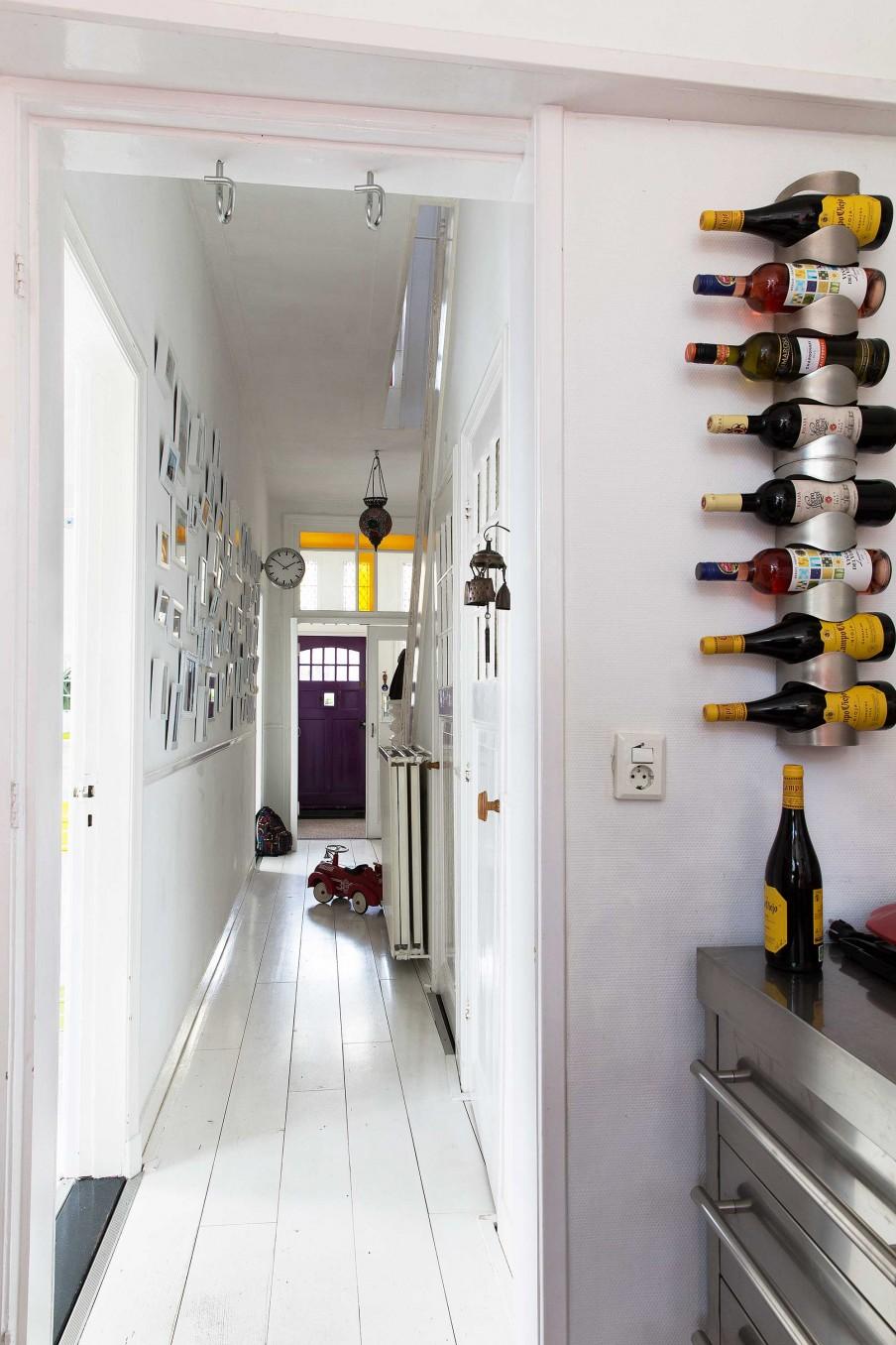 hall étagère à bouteilles