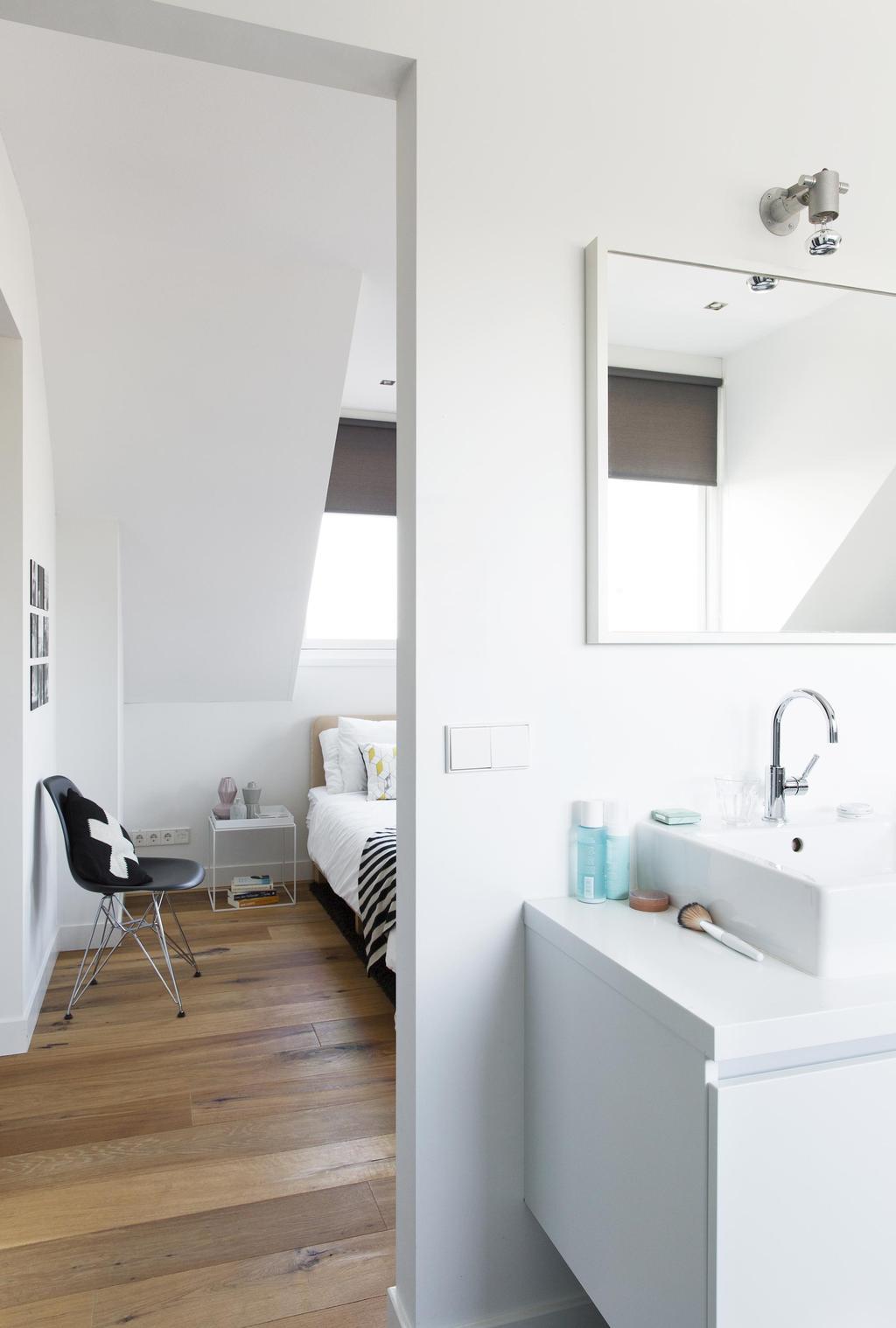 badkamer aan slaapkamer