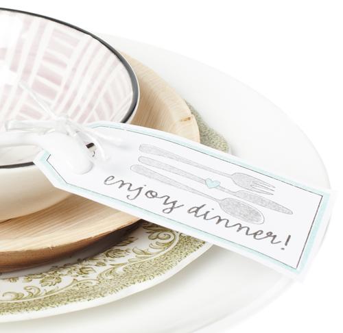enjoy dinner kaartje