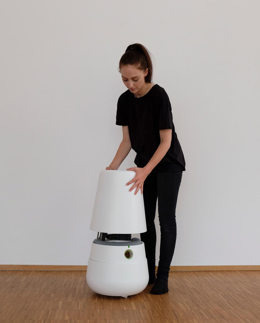 Viktoria Richter stofzuiger decoratie StudentDesign blog | goede voornemens