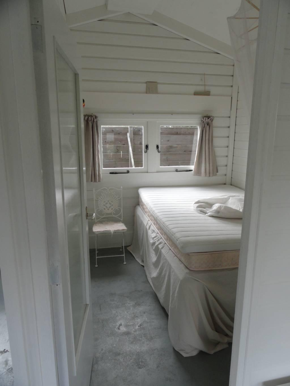 slaapkamer in strandsfeer