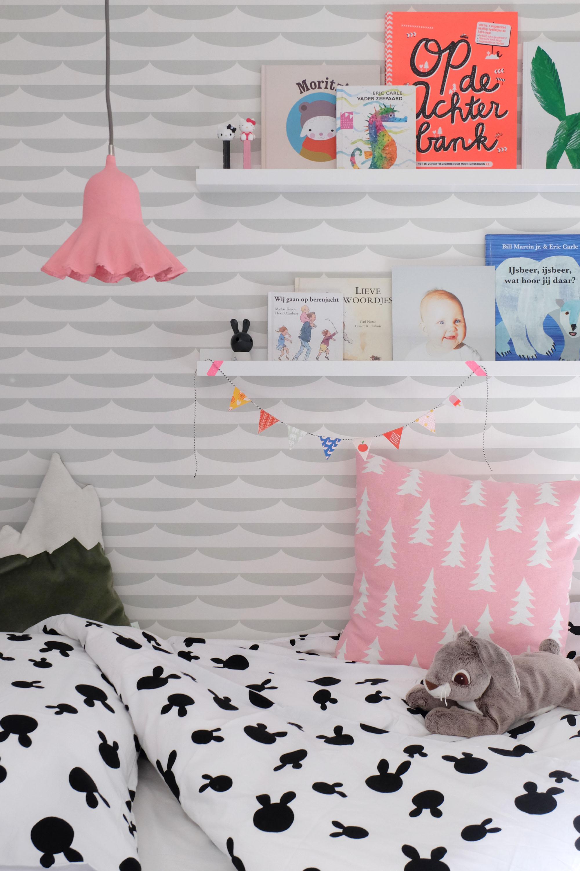 Kinderkamer met konijn
