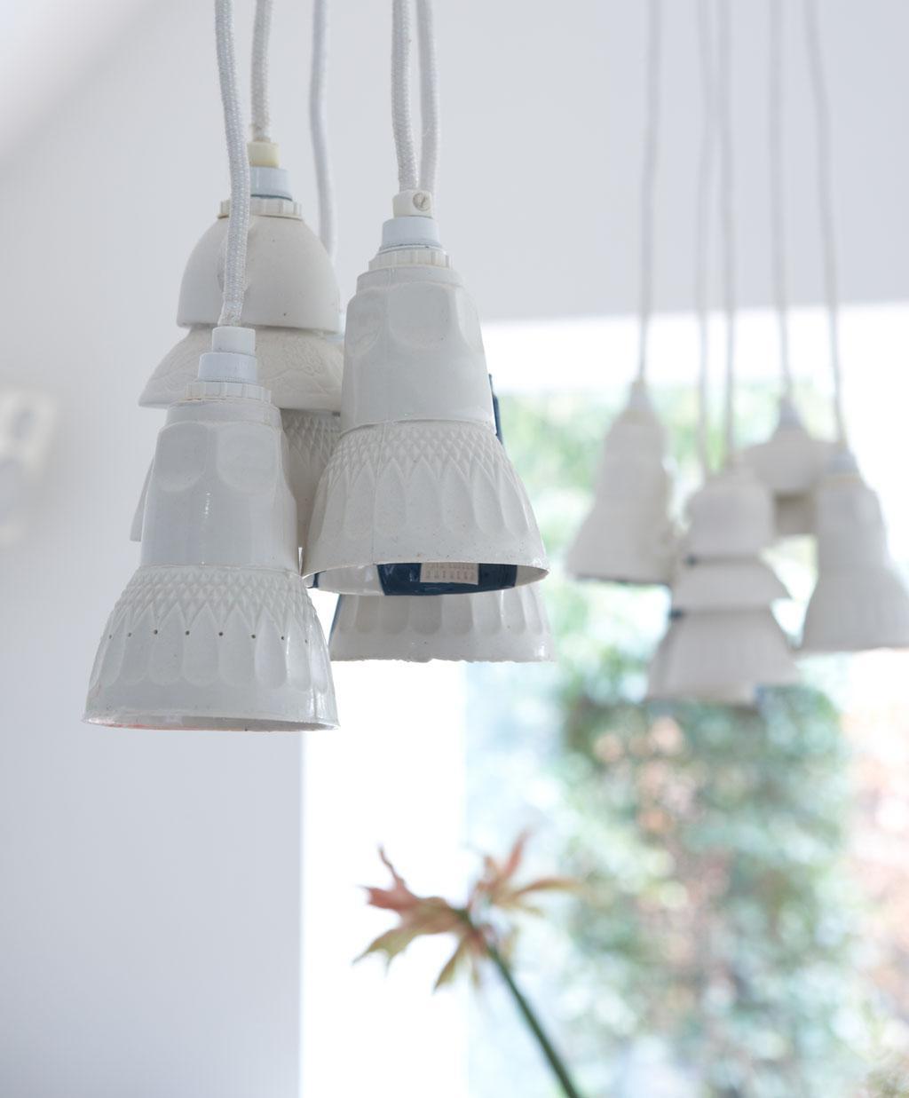 witte hanglampjes