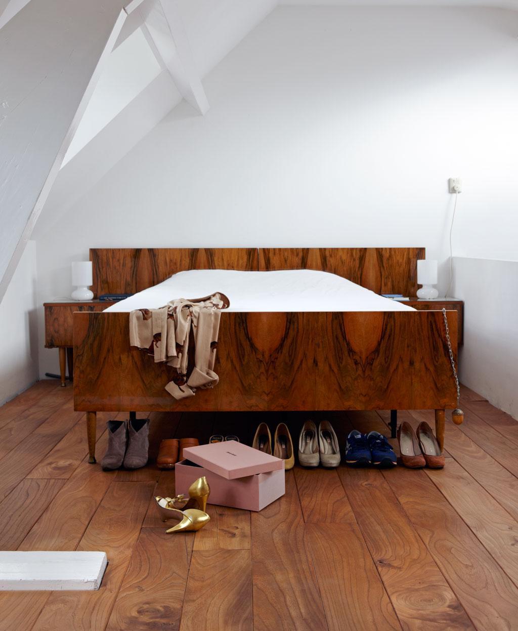 jaren vijftig bed
