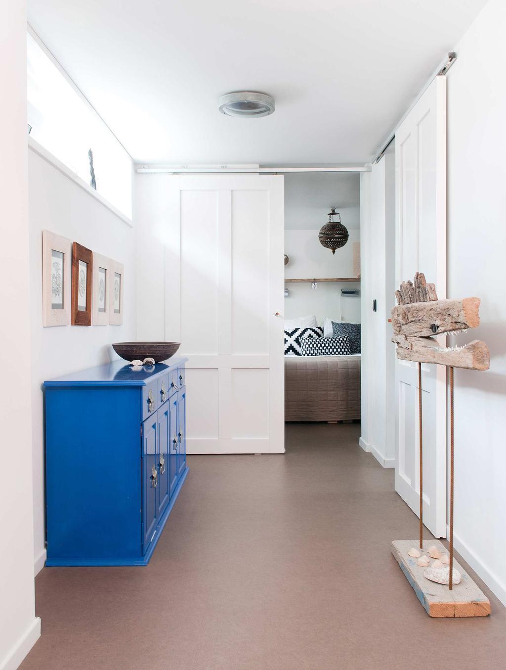 blauw dressoir