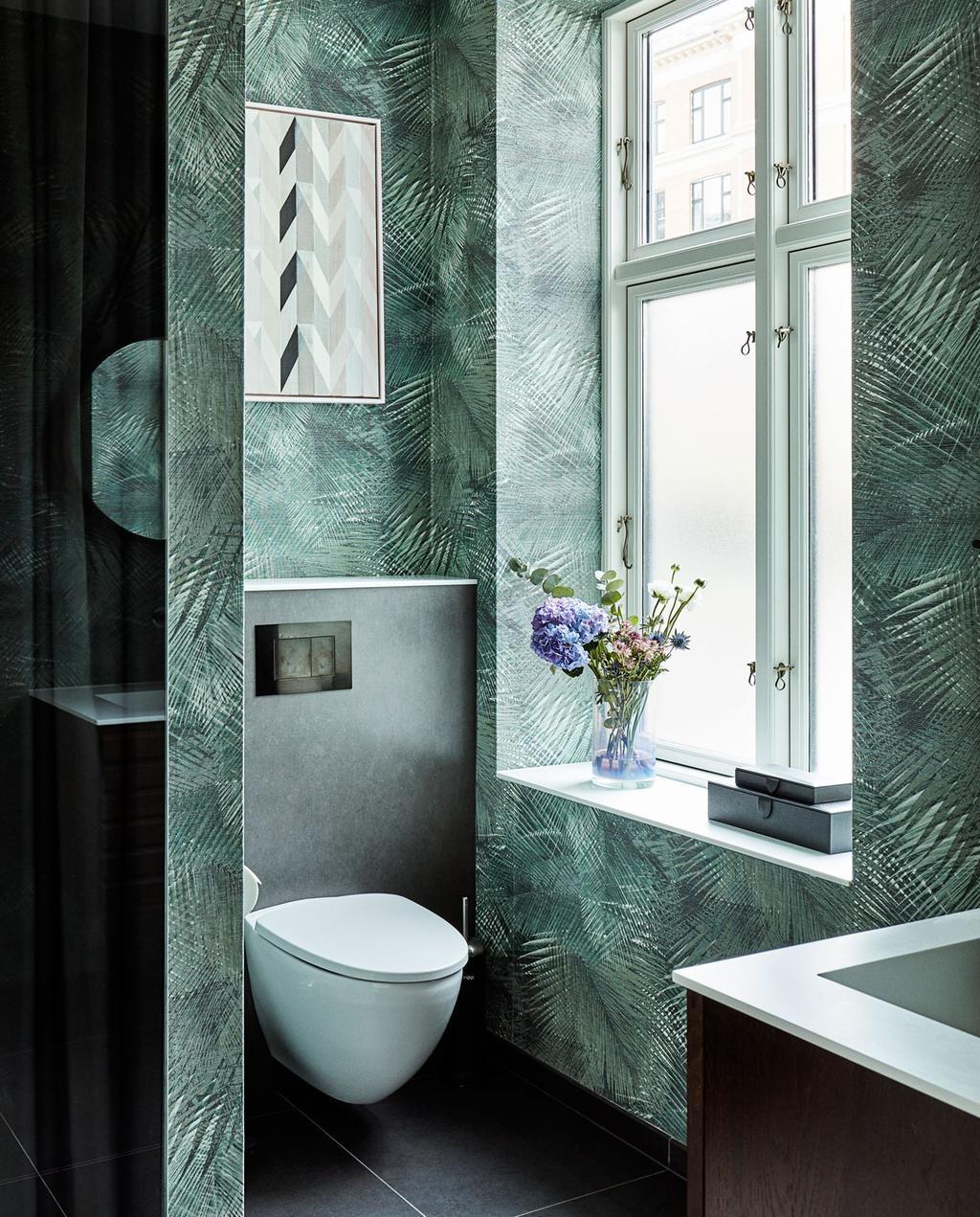 vtdéco - visite guidée - appartement à Copenhague - WC salle de bains