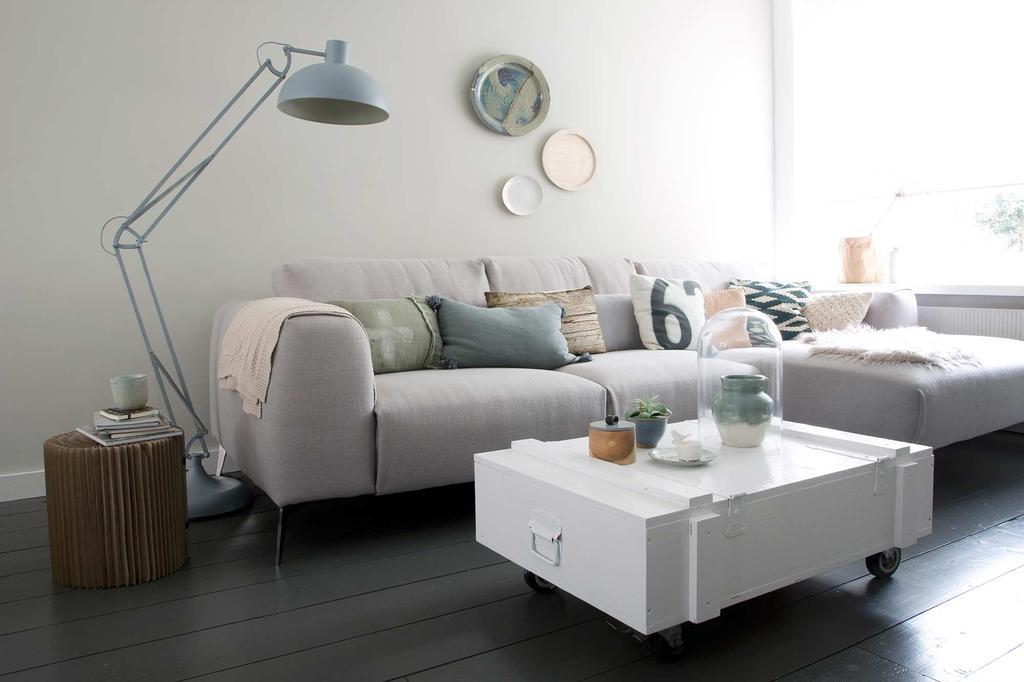 pastel woonkamer