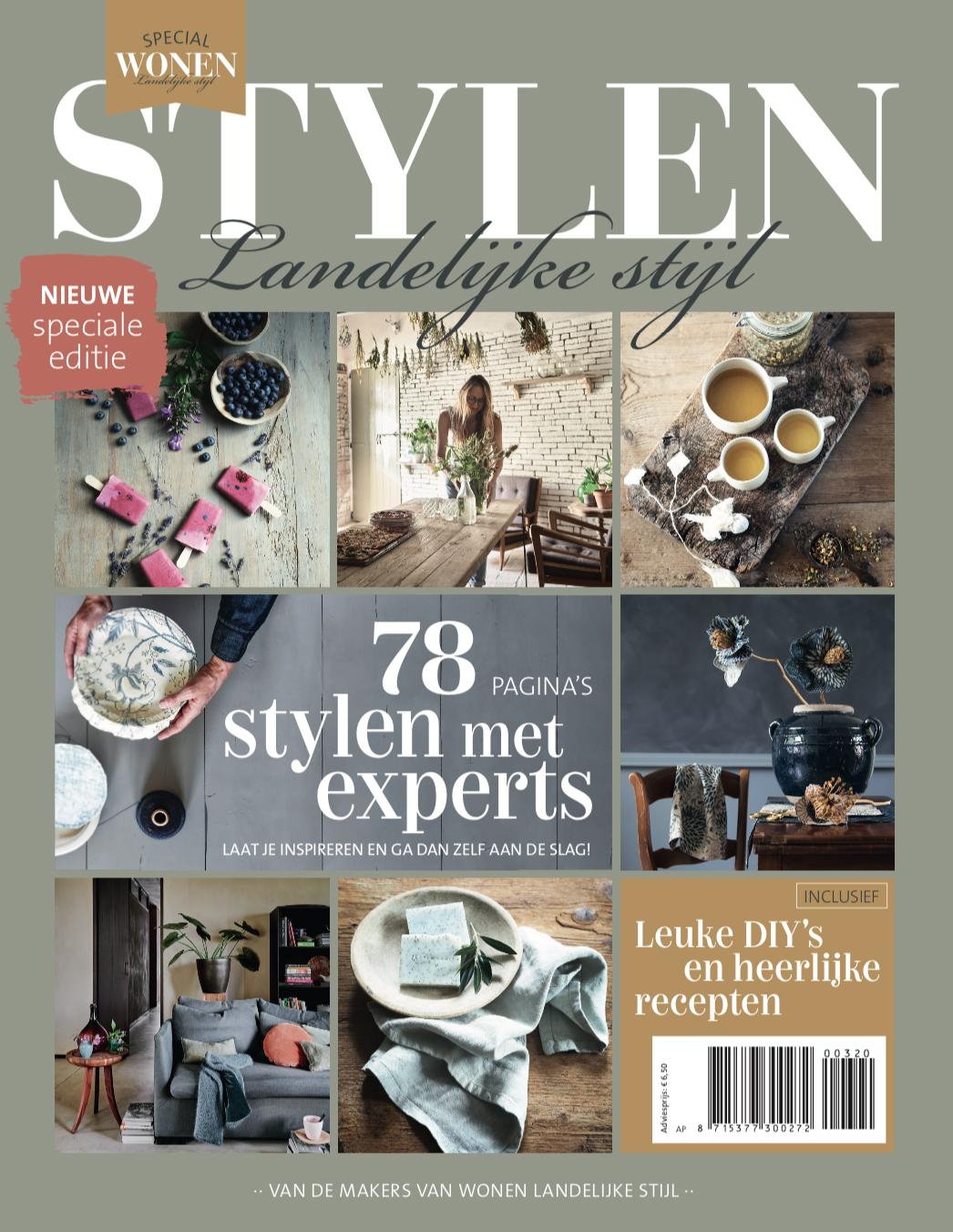 stylen landelijke stijl cover