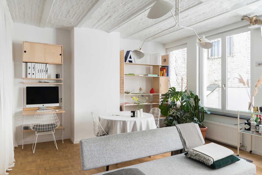 woonkamer wit licht
