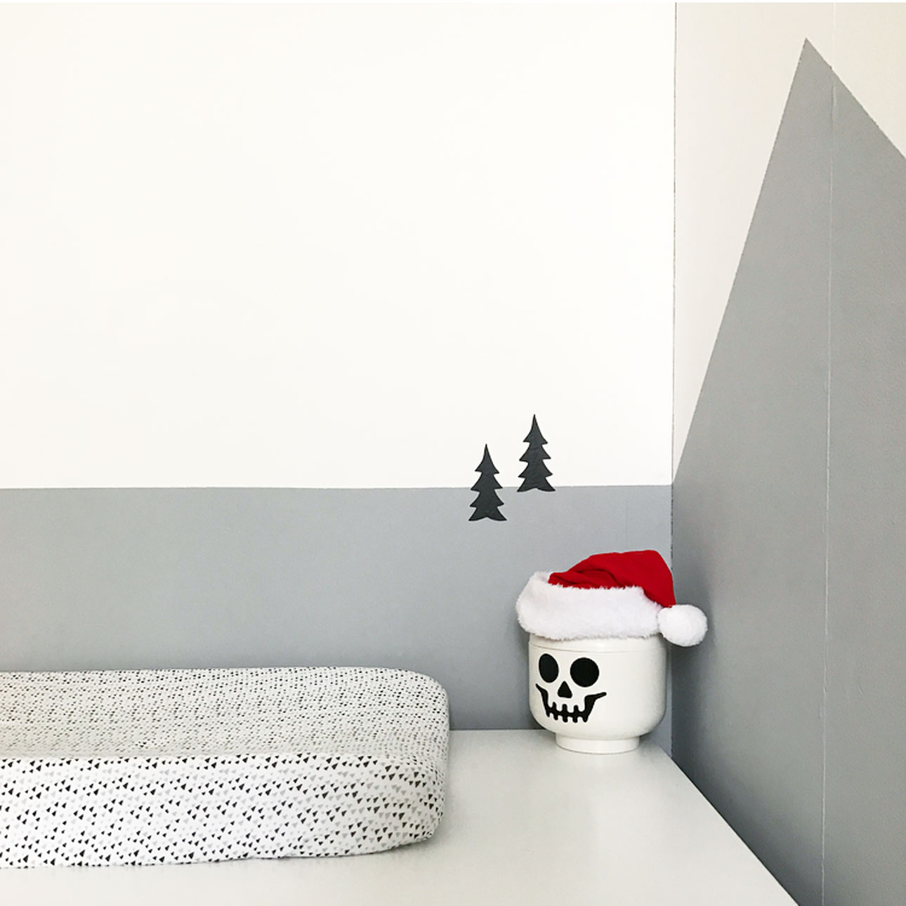 kerst kinderkamer commode