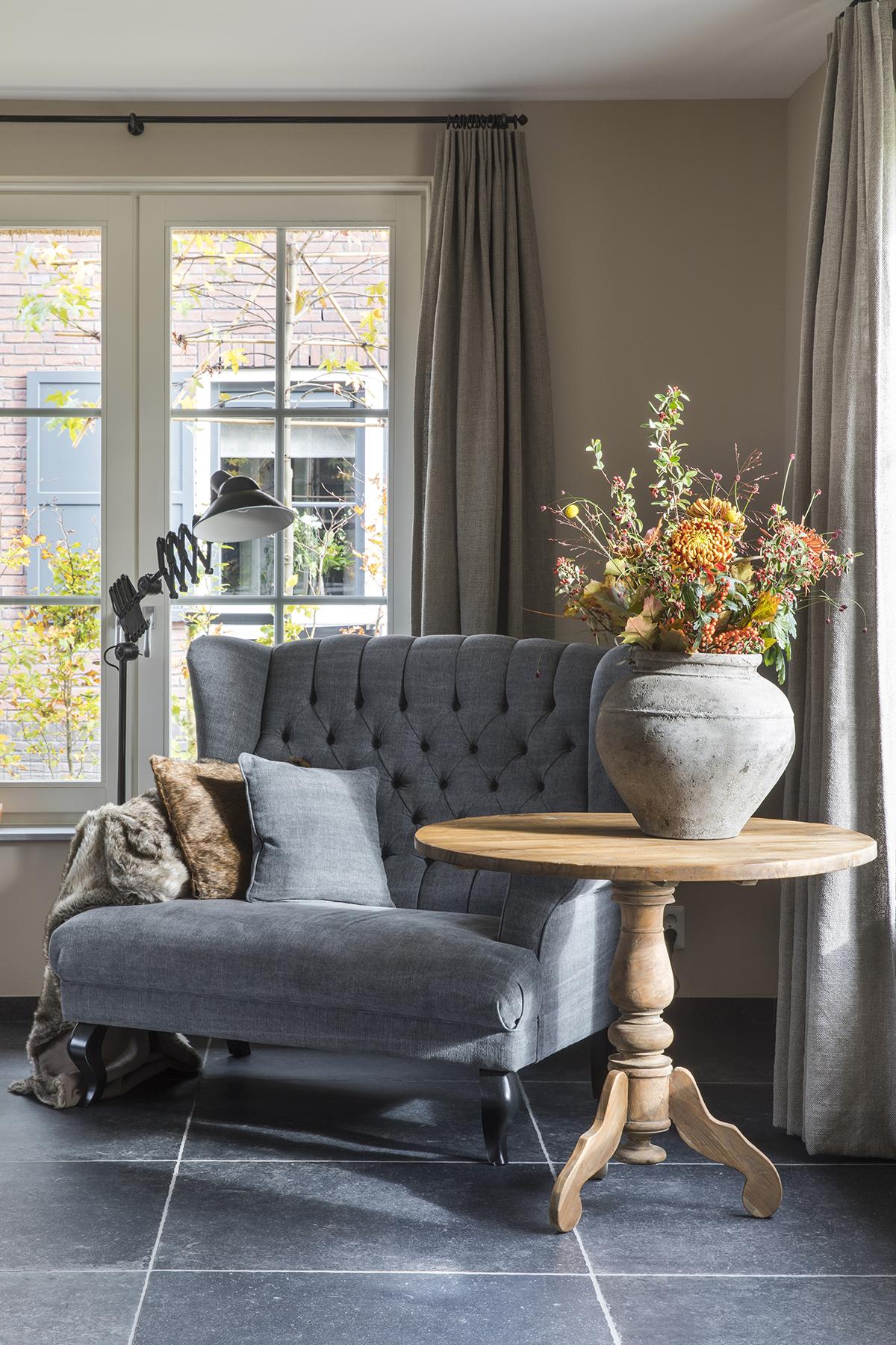 herfst dutch home woonkamer fauteuil