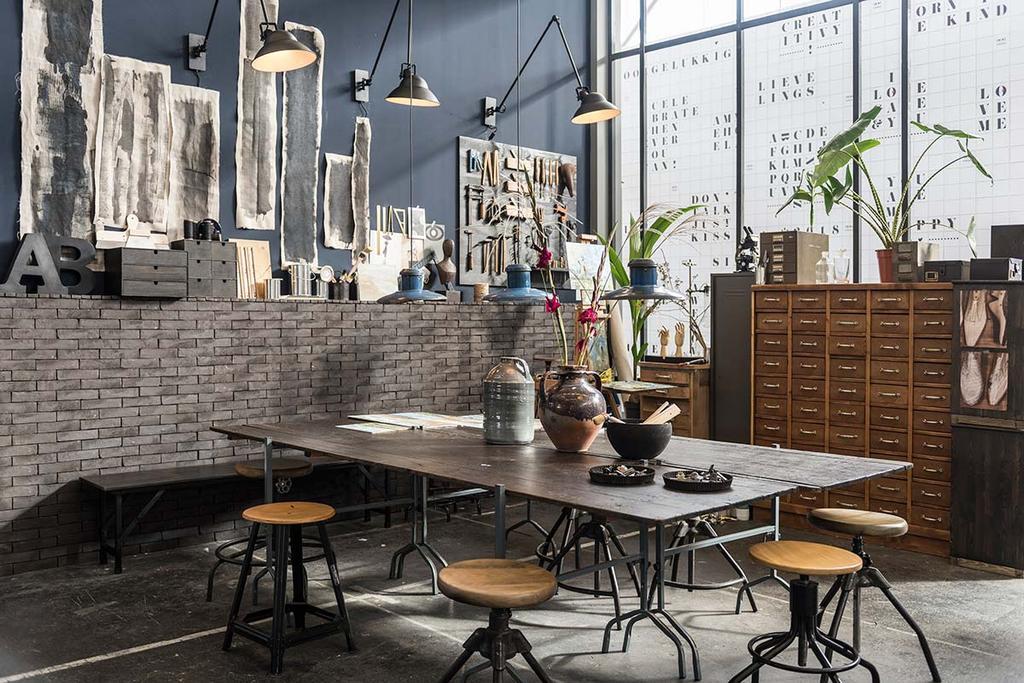 vtwonen huis 2018: atelier