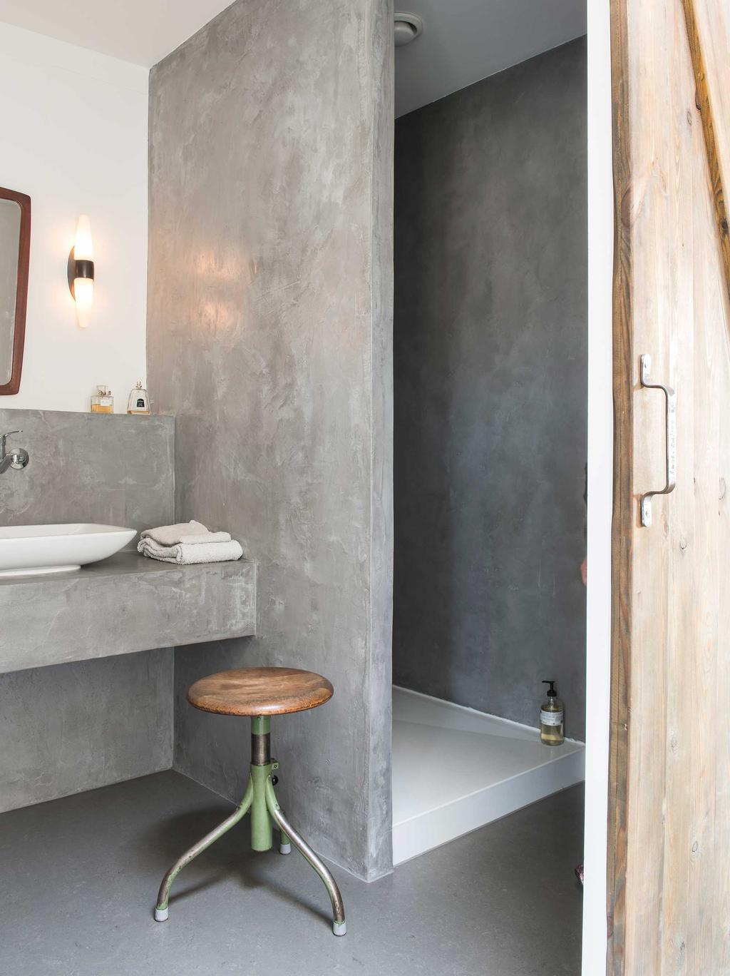 badkamer beton
