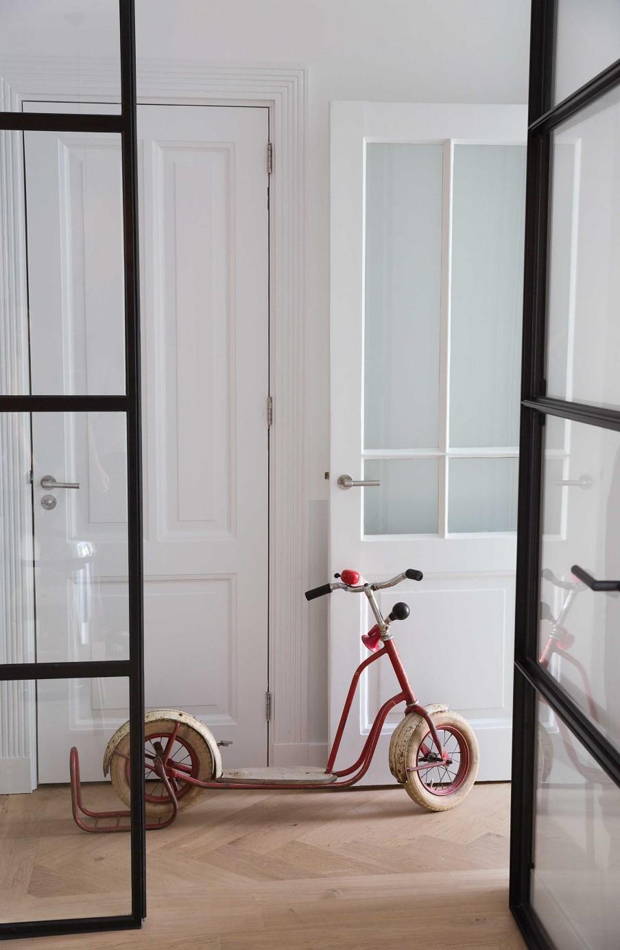 porte vitrée vélo