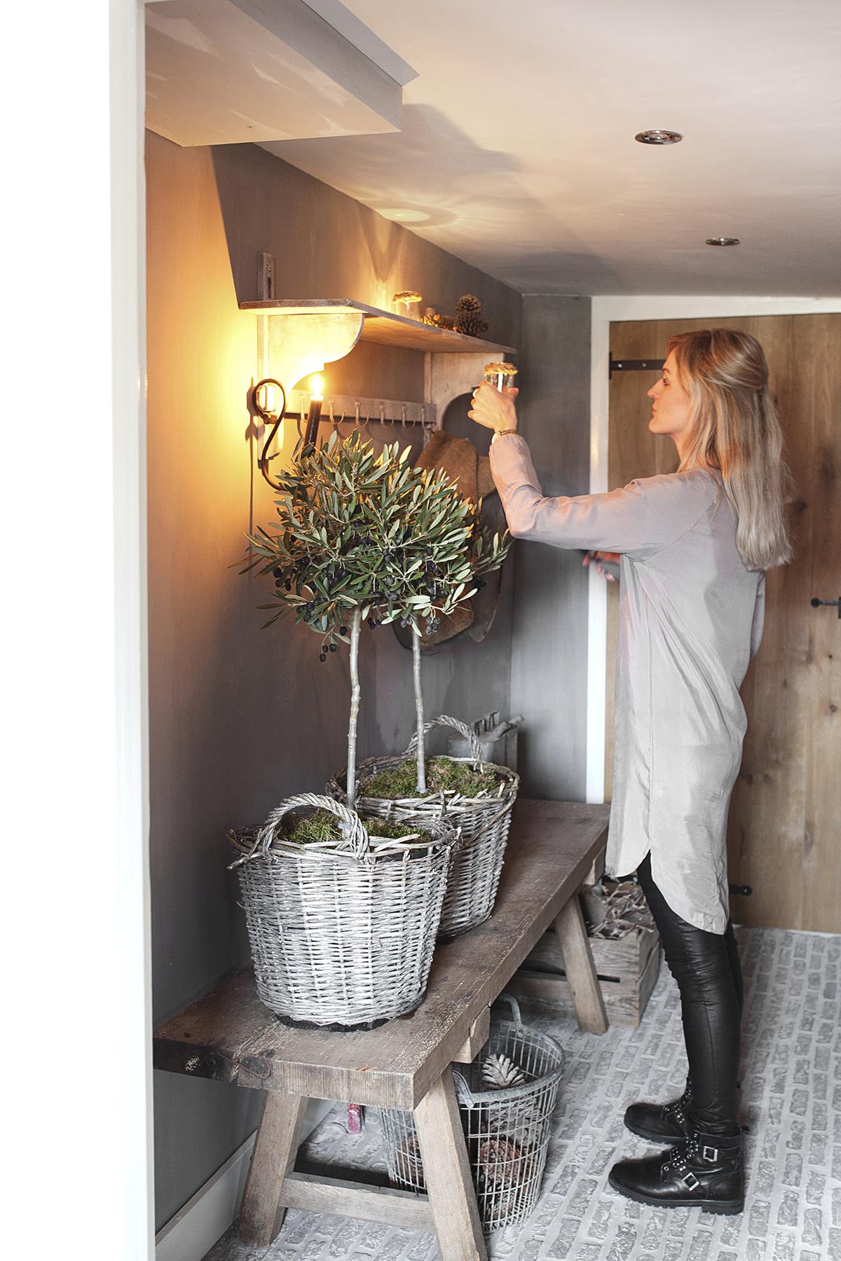 kerstboom alternatief olijfboompjes
