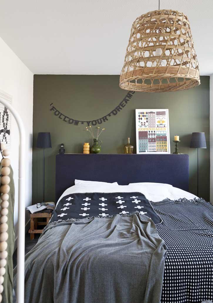 bed dekbedovertrek lamp - persoonlijke slaapkamer