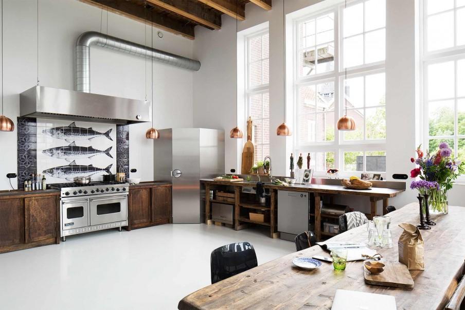 cuisine bois blanc