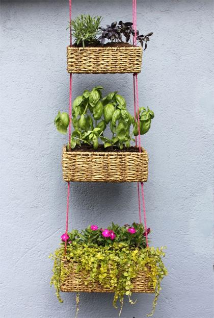 Hangende tuinen met kruiden
