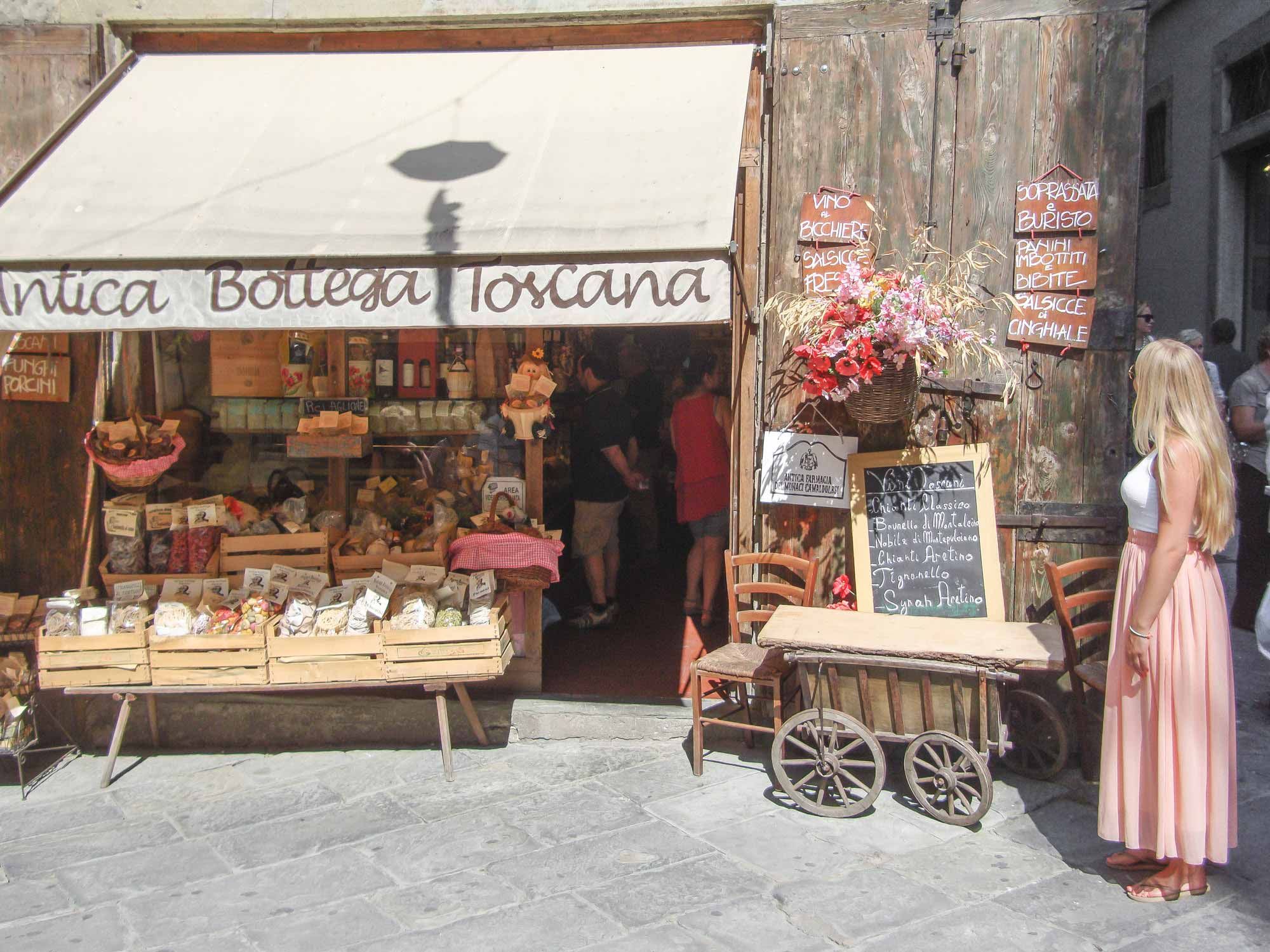 Markt Toscane