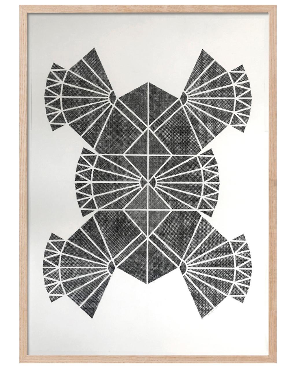 vtwonen 09-2020 | zwart kunstwerk van bisou Gallery