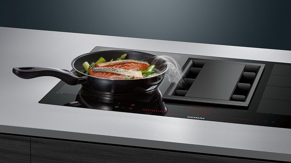 keuken induction air afzuiging Siemens