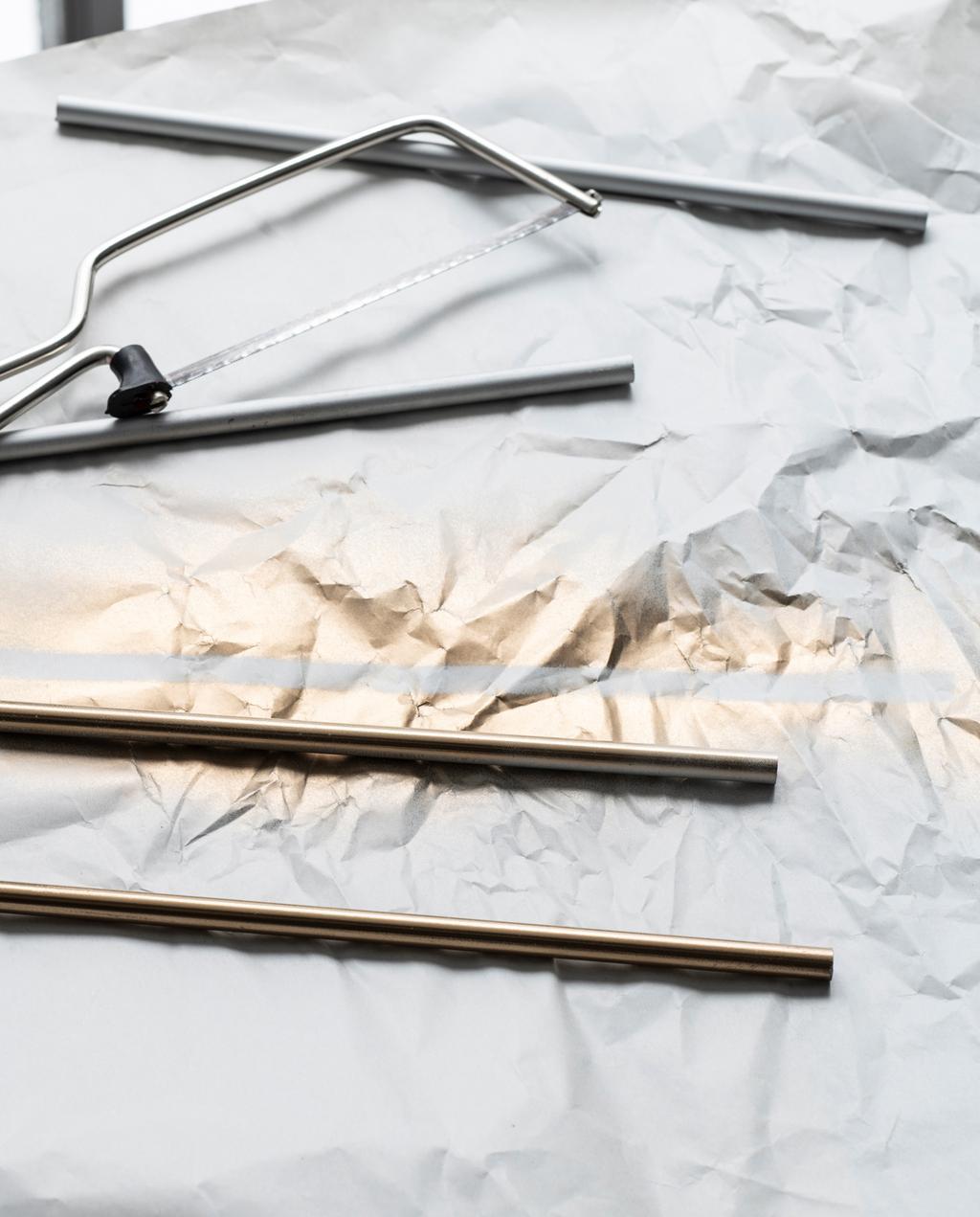 DIY rolstation metalen buizen | inpakken