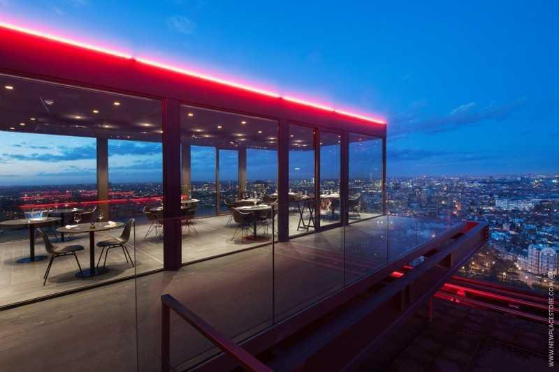 new places to be la villa in the sky