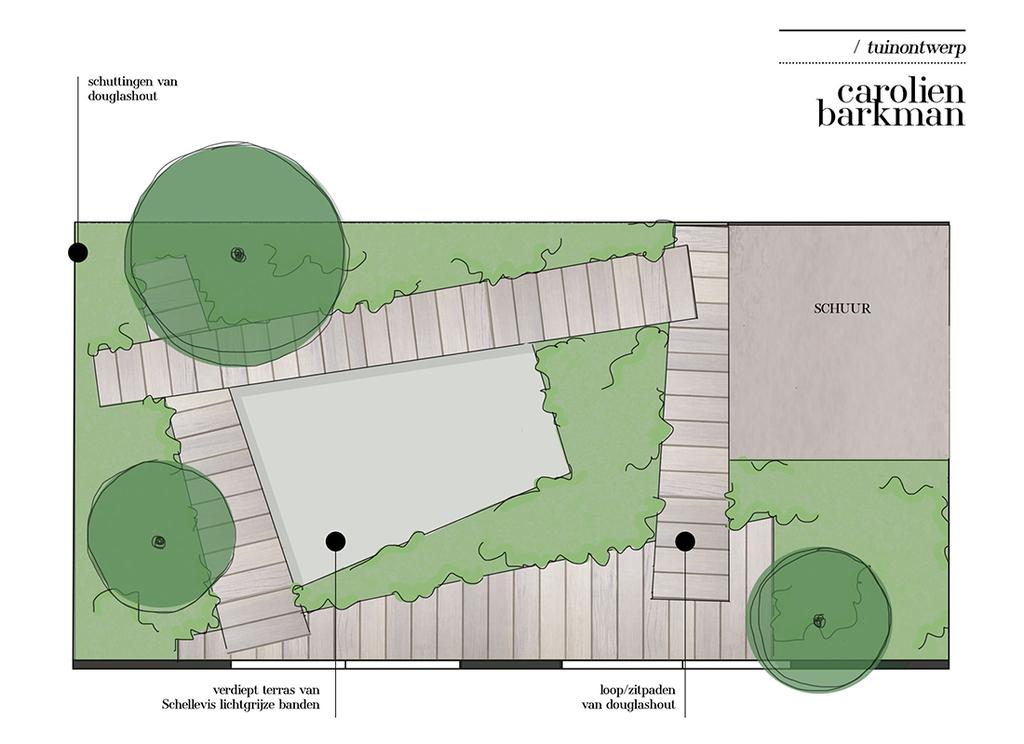 vtwonen tuin special 1 | ontwerp Caroline Barkman tuin ontwerp