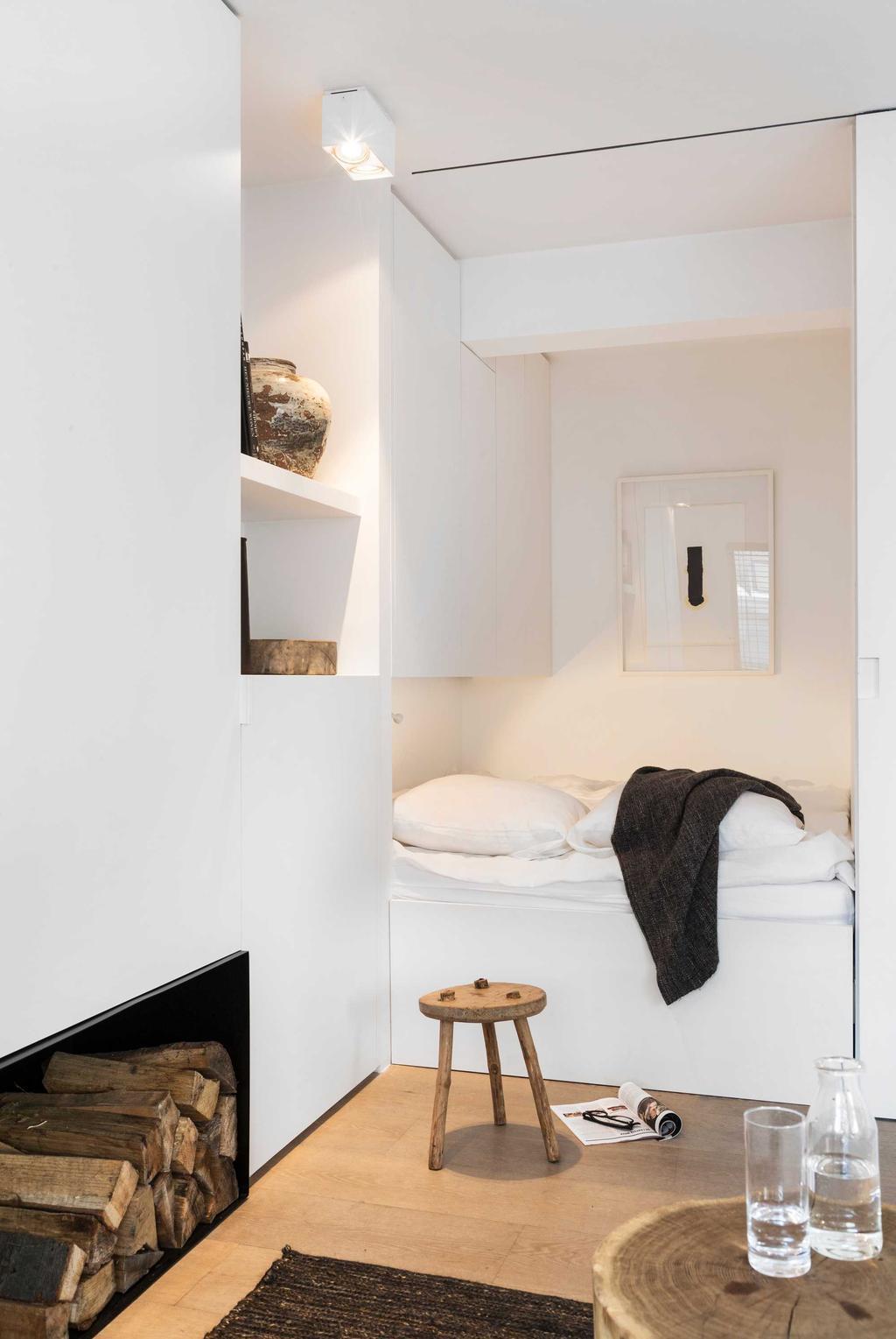 hout wit interieur