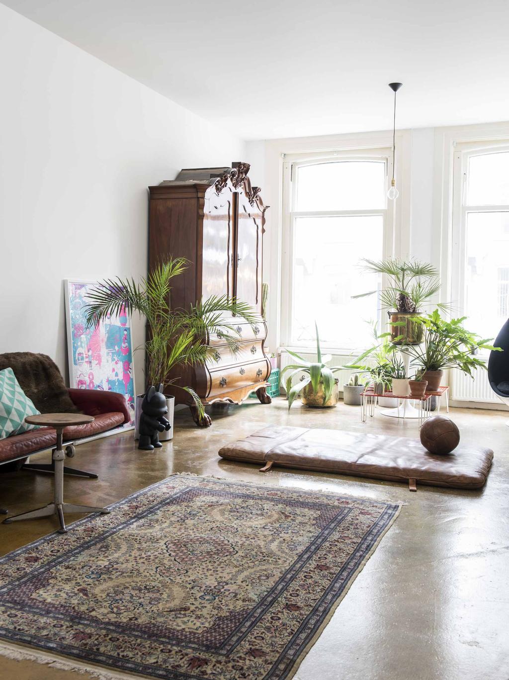Vintage woonkamer