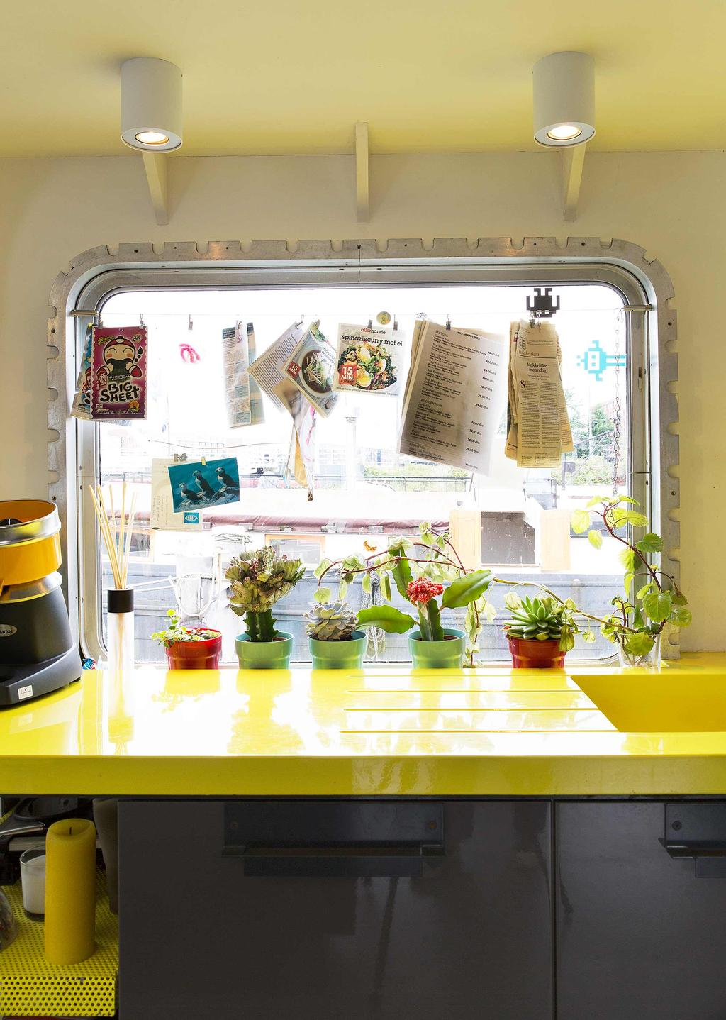 geel keukenblad