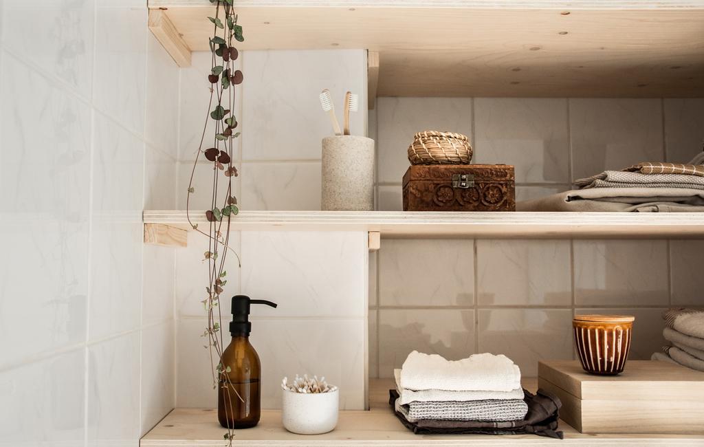 blank houten planken