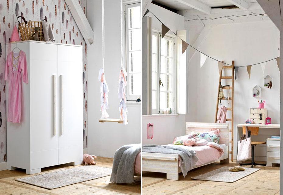 Styling: hippe, roze meisjeskamer - Coming Kids - vtwonen