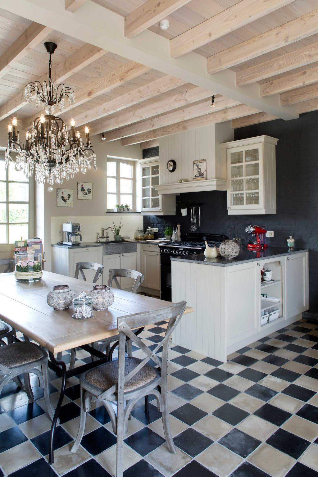 keuken tegels tafel
