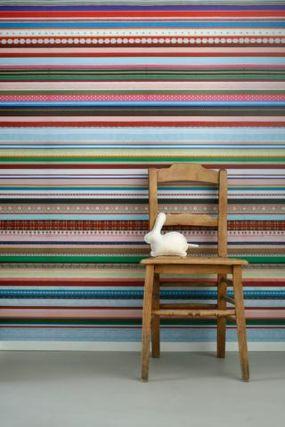 Behang Linten van Studio Ditte