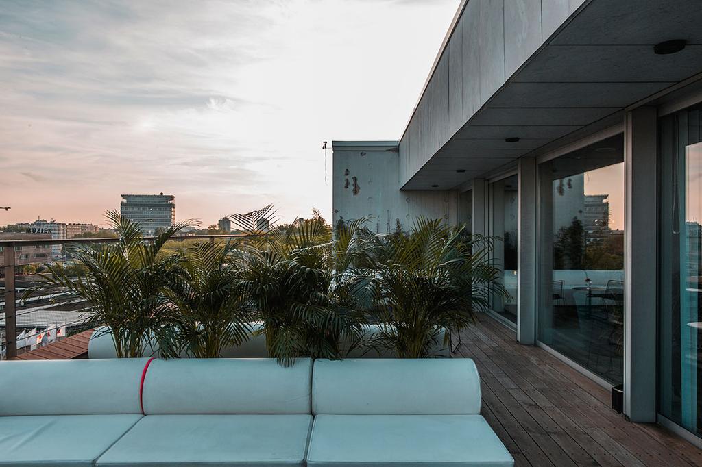 Rooftopbar ONTOP in Antwerpen