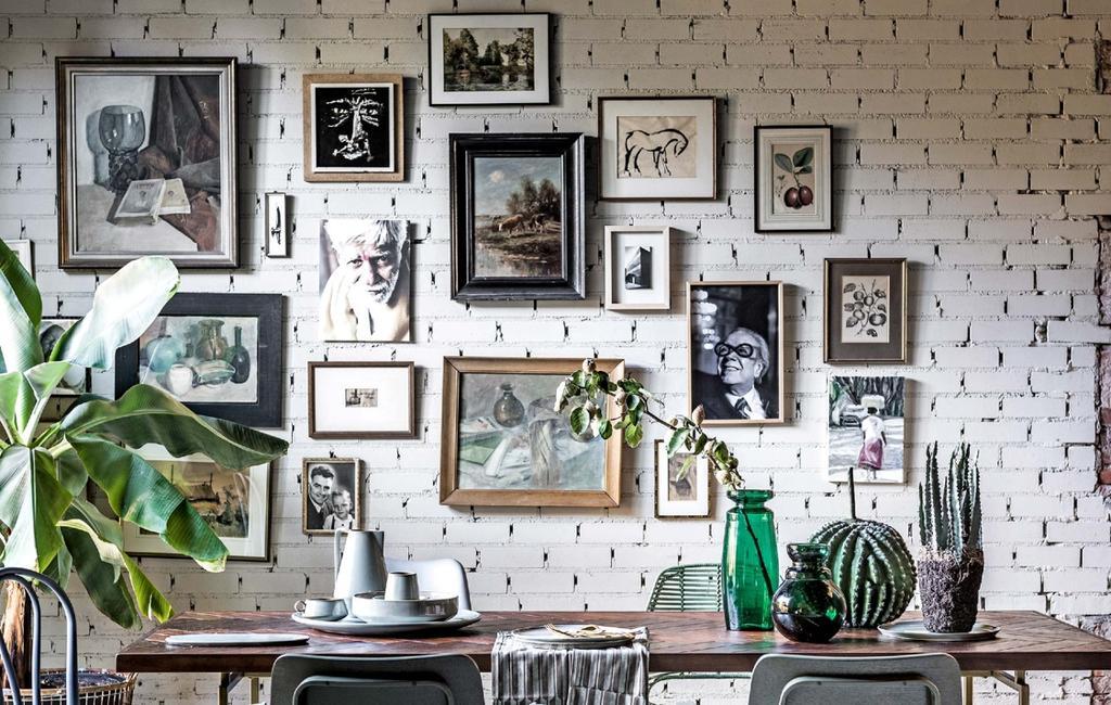 gallery wall | lijsten | schilderij | items voor in een lijst | art wall