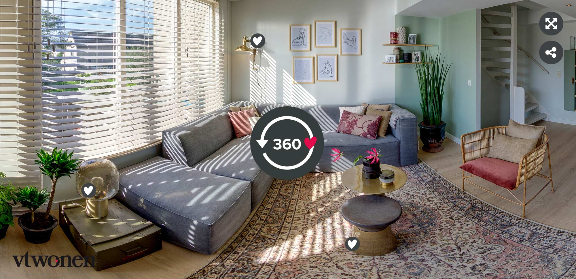 360 tour vtwonen make-over in Velserbroek aflevering 11 seizoen 9