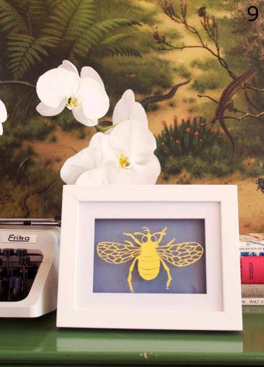 insect van papier