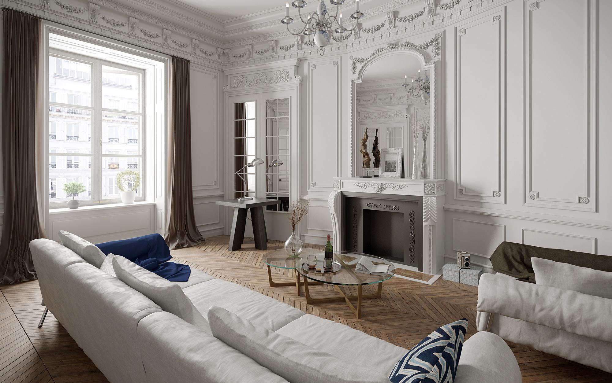 De Parijse stijl in huis